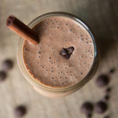 Chocolate Cinnamon Malt Smoothie Recipe (Healthy Paleo Protein)