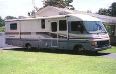 1994 Pace Arrow by Fleetwood -In Very good condition, Powered by a Chevy engine 454 HP. INTERIOR FEATURES INCLUDE: Day/Night shades, Carpet, Hardwood floors, Two Cloth Captain chairs, Natural Maple cabinetry throughout, Corian counter tops, Full Kitchen - See more at: http://www.rvregistry.com/used-rv/153506.htm