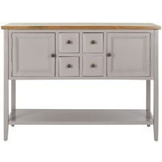 Safavieh Charlotte Grey Sideboard | Overstock.com Shopping - Great Deals on Safavieh Coffee, Sofa & End Tables