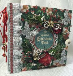 "Graphic 45 ""Christmas Carol"" Album By Cheryl's Paper Creations"