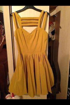 Ebay yellow dress fail