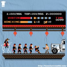 """8-Bits trouble in little china""   Yes, please!"