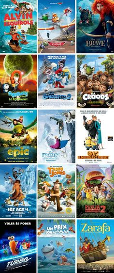 CINC, Cicle de Cinema Infantil en Català per tot Catalunya (els caps de setmana de gener a juliol 2014)