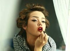 Love her make-up
