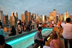 Eight outdoor NYC Bars