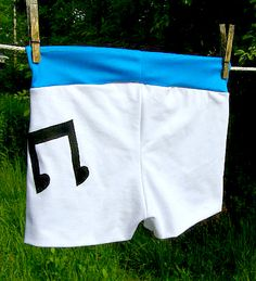 Vinyl Scratch inspired boy shorts Cosplay MLP FiM DJ Pon3