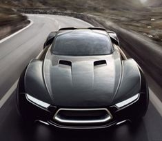 New Ford Interceptor Concept // Mad Max has nothing on this one.