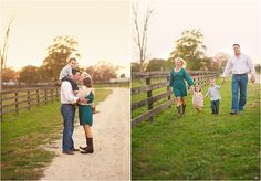 Lovely outdoor family shoot. Love the light!