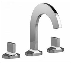 Cut widespread lavatory faucet 39516 from Aquabrass