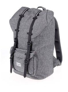 Herschel - Šedý žíhaný batoh  Little America - 1