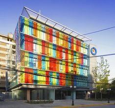 Los Heroes Building, office building, Santiago, Chile.