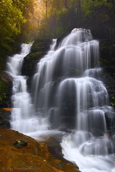 waterfalls .. X ღɱɧღ || Sylvia Falls, Valley of the Waters, Blue Mountains, NSW, Australia