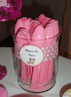 Minnie Mouse First Birthday | CatchMyParty.com