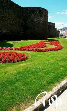 Muralla Romana.Lugo,Galicia,Spain