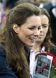 Kate Middleton Prince William and Catherine 'Kate' Middleton brave the rain to visit Darwen in Lancashire. This is their last official engag...