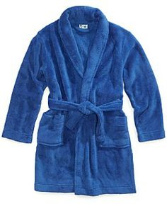PJ & Me Kids Bathrobe, Boys or Little Boys Shawl-Collar Robe