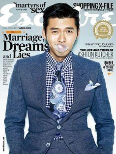 Hyun Bin '' Esquire Magazin Dergisi '' Fotoğrafları - Yeppudaa