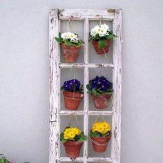 Diy hanging plant holder.