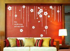3D DIY  Home Modern Decoration Crystal  Sticker Living Room TV background decoration 16060605