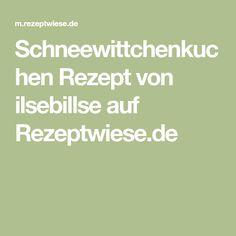 Schneewittchenkuchen Rezept von ilsebillse auf Rezeptwiese.de