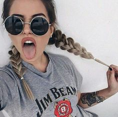 Hair Goals Ombre Girls For 2019 Ft Tumblr, Photos Tumblr, Tumblr Girls, Hipster Fashion, Trendy Fashion, 90s Fashion, Innenohr Piercing, Style Hippie Chic, Hipster Style