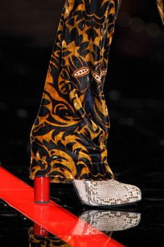 Just Cavalli at Milan Fashion Week Fall 2013 - Details Runway Photos Rock Chick, Rock And Roll, Rubber Rain Boots, Skateboard, Milan, Fancy, Roberto Cavalli, Shoes, Runway