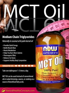 MCT Oil is awesome! I put this in my morning coffee everyday! Health Medium Chain Triglycerides have so many benefits - Who ever said there wasn't such thing as HEALTHY fat! Healthy Fats, Get Healthy, Healthy Heart, Healthy Recipes, Meat Recipes, Mct Oil Benefits, Bulletproof Diet, Bulletproof Coffee, Health Tips