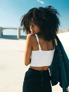 Loxxy Jerry Curly Clip In Extensions for Fashional Women Natural Hair Journey, Natural Hair Care, Natural Hair Styles, Afro Girl, Curly Girl, Natural Afro Hairstyles, African Hairstyles, Curly Clip Ins, Curls For The Girls
