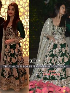 If you want to buy then please contact: 9638999757 & 9104999757 or Whatsapp no : 9638999757 : Tasmin Gopani & Radhi Gopani DUPATTA : NET WITH FANCY ADDITIONAL FAB TOP : NAYLONE SILK BOTTOM & INNER ; SATTIN TYPE : SUIT/GOWN PRICE : 110$