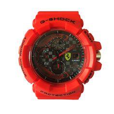 Casio G Shock In Red Sport Unisex Watch.  #fashion, #style, #watch, #men, #women, #trend, #casio, #gshock
