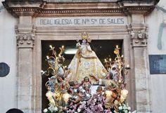 Sueca conmemora este martes el hallazgo de la imagen de su patrona, la Virgen de Sales, por un labrador en 1361