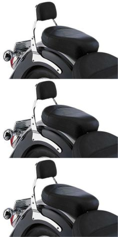 Cobra Sissy Bars for 2010-2011 Honda VT750RS Shadow RS - Color : Chrome - Size : Mini All come complete with chromed side rail mounting plates and steel sissy bar. Comes with Freedom sissy bar pad. Chrome-plated. Uses stock mounting points for a no fabrication installation. Available in 3 sizes for most models: Standard, Short, and Mini.  #Cobra_Enterprises #Automotive_Parts_and_Accessories