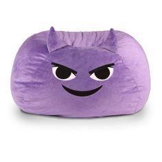 GoMoji Emoji Mischief Bean Bag Chair - 9630501