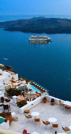 Fira, Santorini, Greece https://www.facebook.com/pages/Disfruta-el-Momento-Enjoy-the-Moment/750346691726285