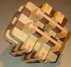 """""""Torture"""", a 6-piece burr puzzle"""