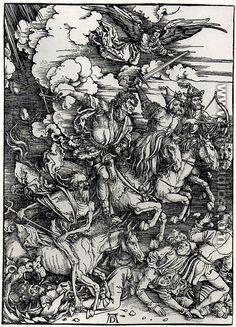 Four Horsemen of the Apocalypse - Albrecht Durer