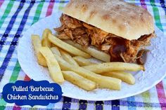 Crock Pot Pulled Barbecue Chicken