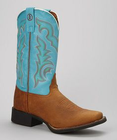 Look what I found on #zulily! Rojo Bridle Cowboy Boot - Women by Tony Lama #zulilyfinds