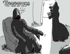 Dementors were no longer used by the Ministry of Magic. | 28 Things That Happened After The Harry Potter Books Ended