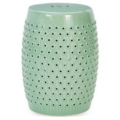 Check out this item at One Kings Lane! Jane Garden Stool, Green