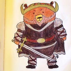 #mywork #illustration #bearcartoon #vikingbear