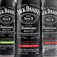 Jack Daniels Whiskey and Cola