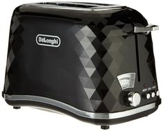 DeLonghi CTJ 2003.BK Toaster, 220-240V~50/60Hz 900W
