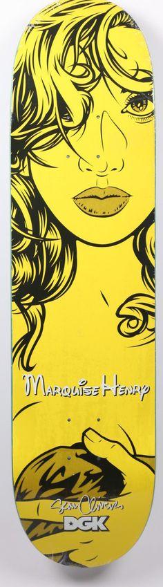 DGK Girls Henry Sean Cliver Art Deck