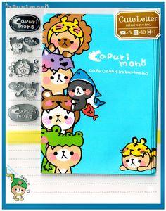 Mind Wave Capuri Mono Friends Letter Set w/ Stickers
