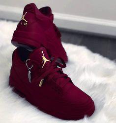 reputable site eafbc 0d2b1 Air Jordan Custom for womans Burgundy Jordans, Burgundy Sneakers, Burgundy Nike  Shoes, Red