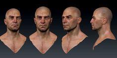 ArtStation - Head sculpt, Jared Trulock