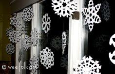 Snowing Indoors | Wee Folk Art