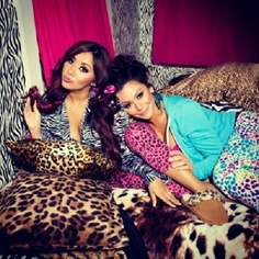 Snooki and J Woww- Love these 2 reminds me of ember and me back in the day