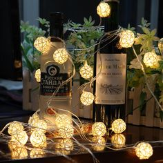 Cheap rattan ball led, Buy Quality 20 light directly from China string ball lights Suppliers: 20 LEDs EU US Warm White Rattan Ball LED String Lighting Holiday Christmas Wedding Party Curtain Decoration Lights Drop Holiday Lights, Christmas Lights, Christmas Holidays, Christmas Fairy, Christmas Design, Ball Lights, Party Lights, Christmas Candles, Outdoor Christmas